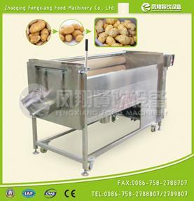 (new)MSTP-1000 胡萝卜、土豆清洗抛光机 砂辊去皮机-框架-600x600dpi